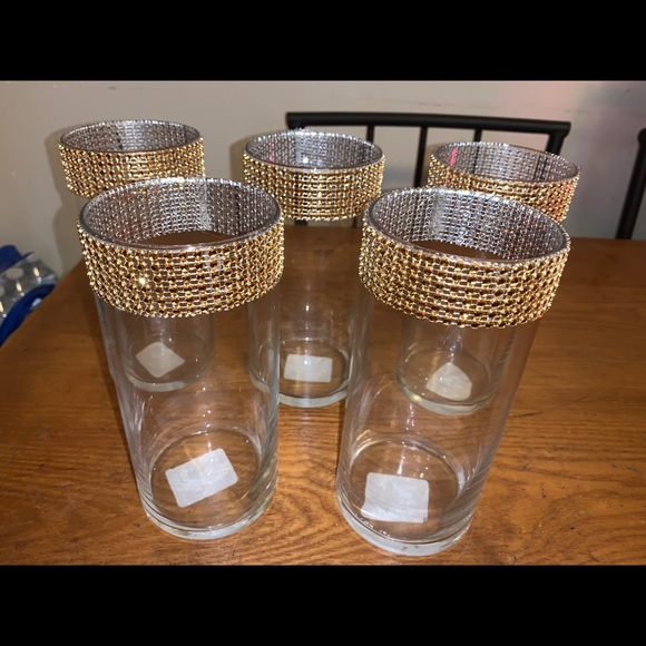 Vases/candle holders